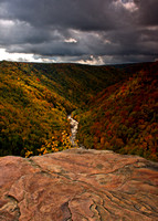 """Pendleton Point"", Blackwater Falls State Park, WV"