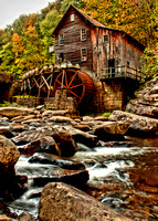 """The Old Mill"", Babcock State Park, WV"